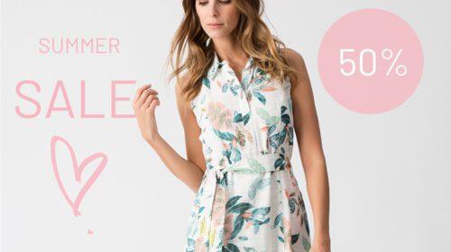 Summer sale is on! Shop nu de volledige zomercollectie aan -50%